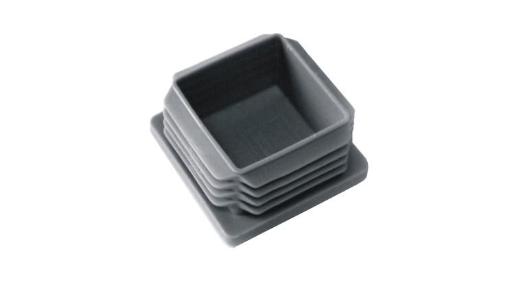 Aluminium Profile End Cap PP60x60