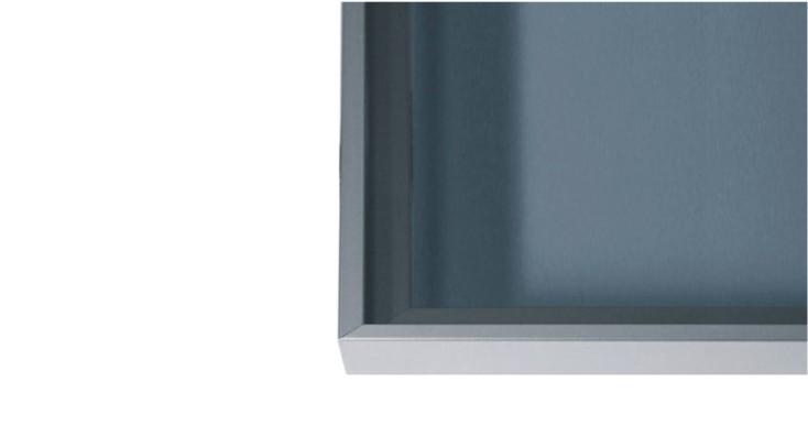Aluminium door profile D10